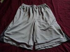 STARTER Gray Basketball Shorts ~ Medium (32/34)   Polyester  Waist strings.MC