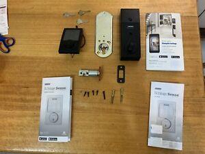 Schlage Sense Smart Door Security Lock with Apple orAndroid App MATT BLACK
