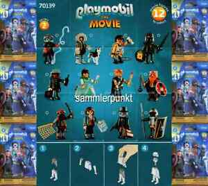 1 PLAYMOBIL® FIGUR -im DVB od.OVP- Ihrer Wahl a.d.Serie Playmobil Movie2 #70139