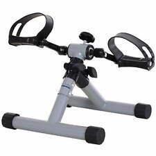Mini Pedaliera Cyclette per Gambe e Braccia Max 60 Kg HMC Grigia