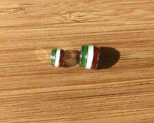 charm separatore braccialetti bandiera italia