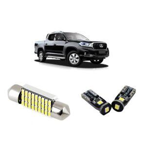 For LDV T60 2017-2020 T10 Bright White Interior Lights Conversion Kit