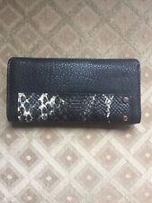 Enzo Angiolini Snake Embossed Non-Leather Wallet