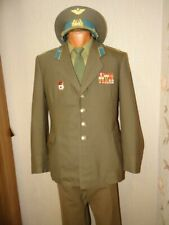 USSR Soviet army military daily uniform  Air force Colonel  officer 198X wool