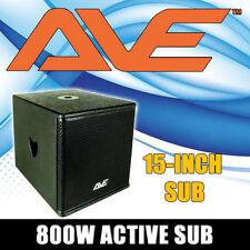 """BASSBOY 2 AVE ACTIVE 15"""" SUBWOOFER POWERED SUB"""