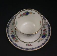 Adderleys Ltd Teacup & Saucer Hand Painted Floral Pattern from England