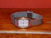 Pre-Owned Women's Skagen Steel Slim 327SGS Dress Watch