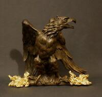 GRANDE STATUE D'AIGLE DEBUT XIXème - GRAND STATUE OF AN EAGLE EARLY XIXth