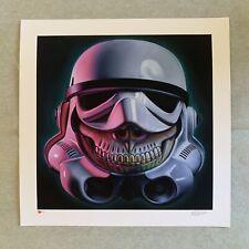 Ron English - Stormtrooper Grin Print Star Wars Kaws Murakami Sorayama #/100