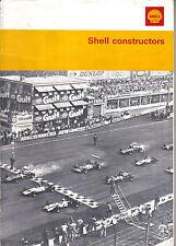 SHELL Constructor Motorsport profili BRM FERRARI FORD PORSCHE RENAULT ABARTH +