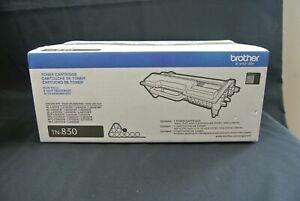 Brother TN850 Black High Yield Toner Cartridge Genuine - New In Box (NIB) Tn850