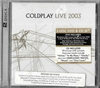 COLDPLAY LIVE 2003 (CD) Brand New Sealed!