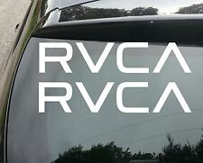 2x grandes Rvca Surf car/van/window Jdm Vw Dub Vag euro Grasa Vinilo calcomanía adhesivo