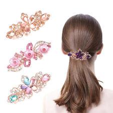 Haarclip Haarklammer Schmetterling Strass Haarspange Haarschmuck Haarnadel