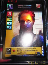 SWCCGYJ CCG YOUNG JEDI REFLECTIONS FOIL MINT SUPER RARE N° P10 PADME NABERRIE
