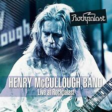Henry Mccullough Band - Live At Rockpalast (NEW CD+DVD)