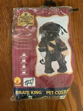 Pirates of the seven seas pirate king pet costume large for dogs 18-20 inch