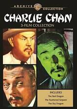 Charlie Chan 3-Film Collection (DVD, 2016, 2-Disc Set) Like New!