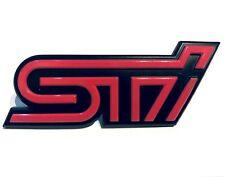 Genuine SUBARU STI GRILL BADGE  - 93013FE160
