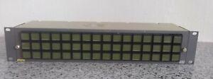 Evertz CP-2048A 2u  Video HD XENON Matrix Panel (Ref-12)