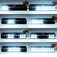 12V LED White Car Truck Warning Emergency Strobe Light Flashing Dash Beacon Lamp