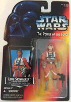 Star Wars LUKE SKYWALKER X-WING PILOT POTF Power Of The Force Action Figure 1995