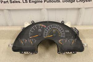 94 97 Pontiac Trans AM Firebird Instrument Gauge Cluster Speedometer 138K 150MPH
