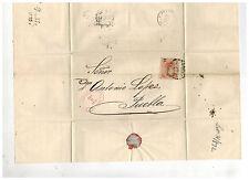 1872 Gutierrez y Del Rio Mexico Cover to Puebla Dr Antonio Lopez 5