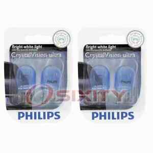 2 pc Philips Side Marker Light Bulbs for Peugeot 208 2020 Electrical xw