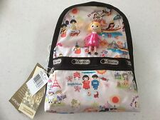 Lesportsac Disney Small World Around the World Mini Basic Backpack