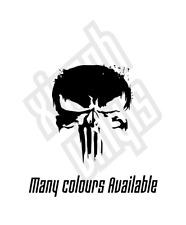 The Punisher vinyl sticker decal logo marvel comic film car window optional tv