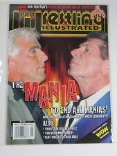 Pro Wrestling Illustrated Magazine May 2002 The Mania to end all Manias