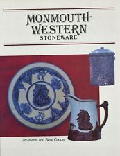 Antique Monmouth-Western Stoneware Pottery Identification / Scarce Book + Values