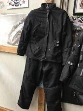 A Great Ladies 2 Piece Frank Thomas Lady Racer Textile Motorcycle Suit. Size M