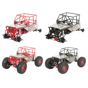 1:16 RC Car Frame Alloy Car Body Chassis Frame 4x4 Replace Parts Accessories