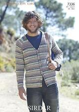 Sirdar Crofter DK Pattern for Men 7336