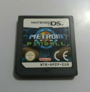 METROID Prime PINBALL Nintendo Ds solo cartucho version PAL EUR