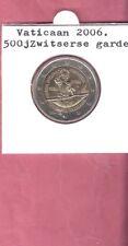 VATICAAN 2 EURO 2006 UNC ZWITSERSE GARDE