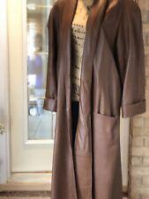 Vintage leather coat Sz M Super Hip!