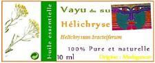 Huile Essentielle  Hélichryse -Helichrysum bracteiferum- 10 ml - de Madagascar