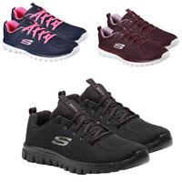 Womens Skechers Trainers Memory Foam Lightweight Running Walking Shoes Trainer