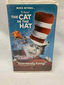 Dr. Seuss The Cat in the Hat (VHS, 2004, Clamshell Case) Mike Myers