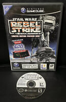 Star Wars Rogue Squadron III: Rebel Strike Preview Disc Nintendo GameCube