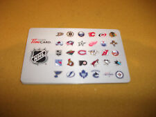 2013 NHL Hockey Reloadable Gift Card - All Logos (Tim Hortons Canada)