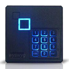 RFID Reader Watherproof Wiegand26 125K LED keypad a part of  Access control