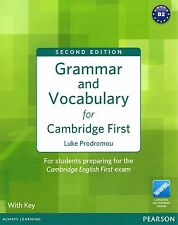 Pearson GRAMMAR AND VOCABULARY for CAMBRIDGE FIRST FCE Second Edition w Key @NEW