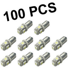Wholesale 100 X BA9S 1895 57 T4W 182 5 5050 SMD LED White Car Lights Lamp Bulb