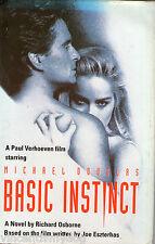 Basic Instinct by Richard Osborne based on the Sharon Stone film (hardback)