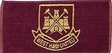 West Ham Utd. Cotton Bar Towel   500mm x 250mm  (pp)