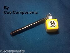 New Yellow 9 Ball Pocket Chalker-Chalk Holder-w/ Free Masters Chalk